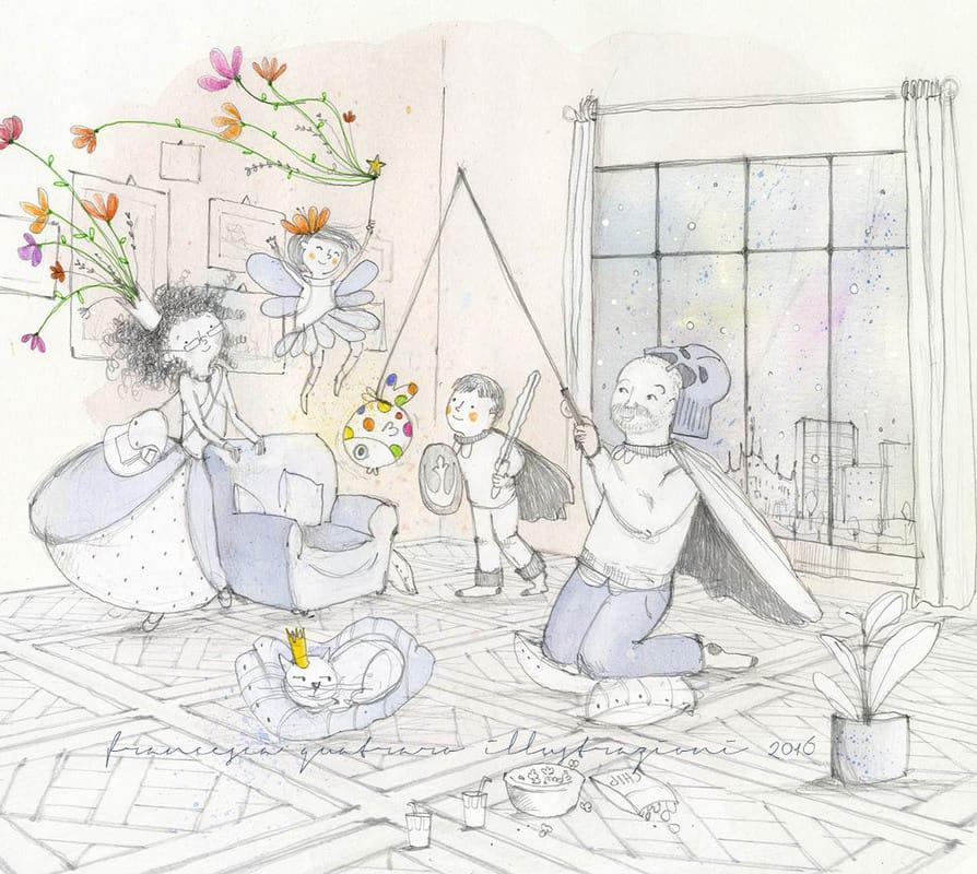poesia visiva famiglia