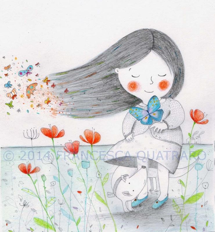 poesia visiva farfalle