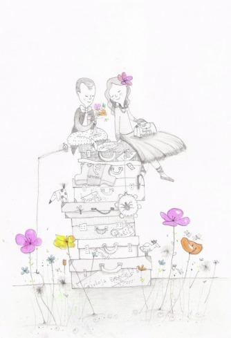 poesia visiva invito di matrimonio