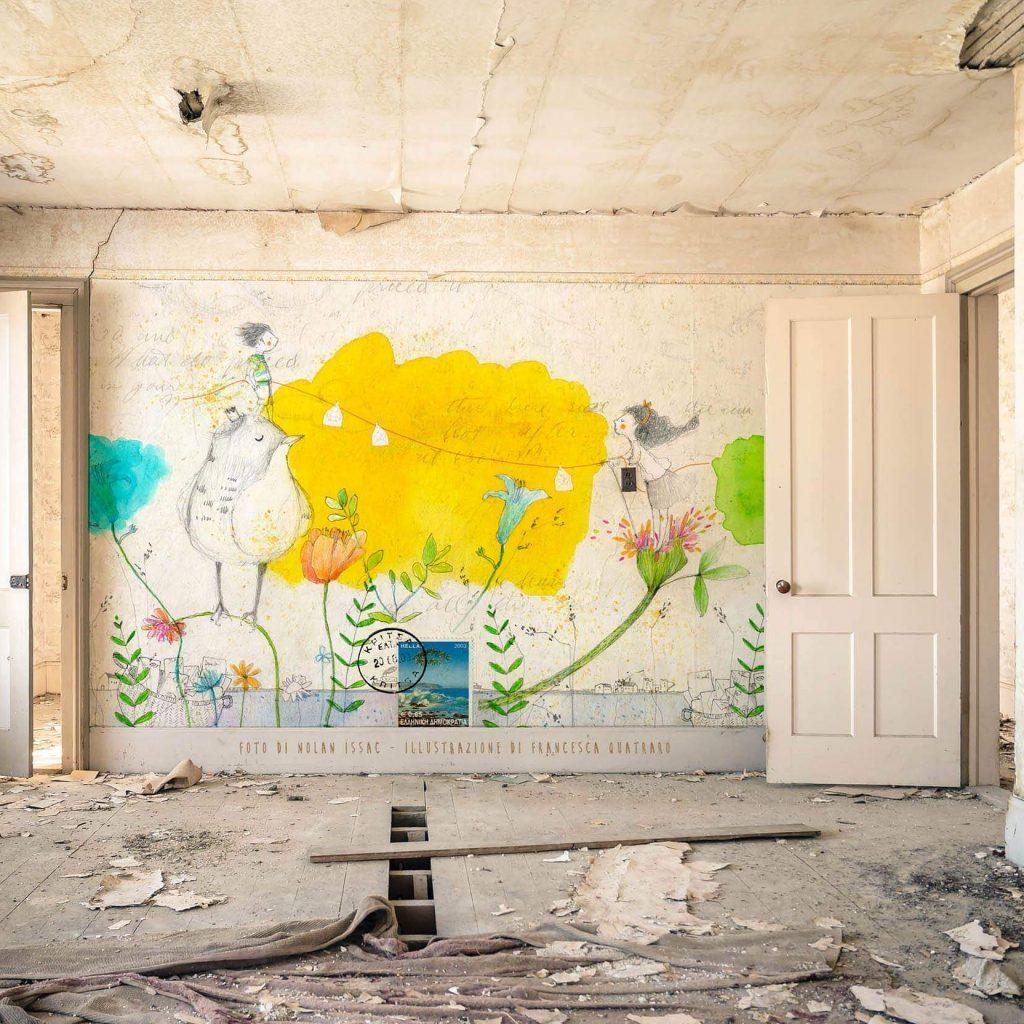 Disegni Sui Muri Di Casa muri illustrati archivi - officinamezzaluna